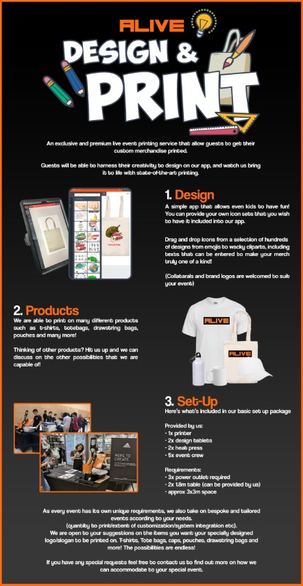 T-Shirt Printing Singapore | Custom T Shirts & Gifts | MonsterPrints