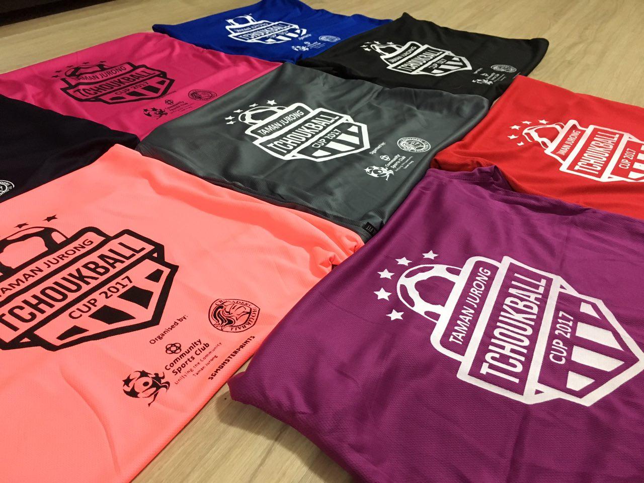 Silkscreen T Shirts Being Printed