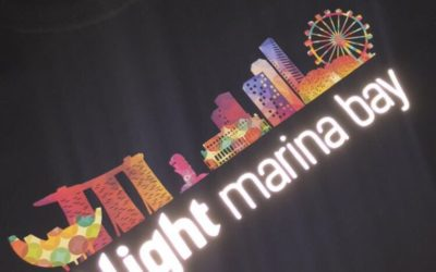 REFLECTIVE PRINTED T SHIRTS FOR ILIGHT MARINA BAY