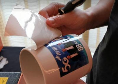 live mug printing