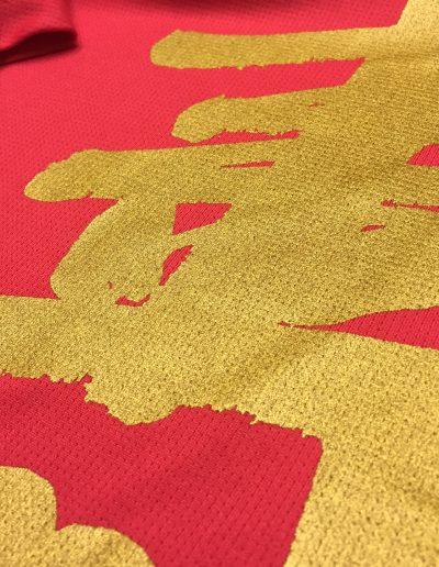 gold silkscreen on cooltech