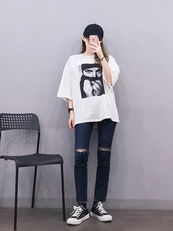 oversized t-shirt female