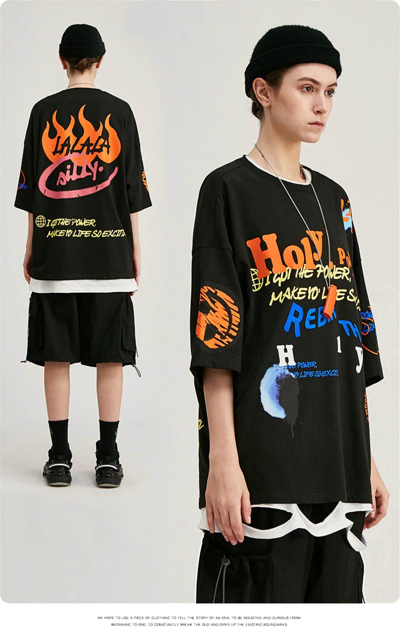 inflation oversized t-shirt