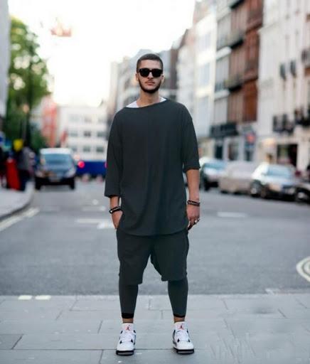 oversized t-shirt for men style
