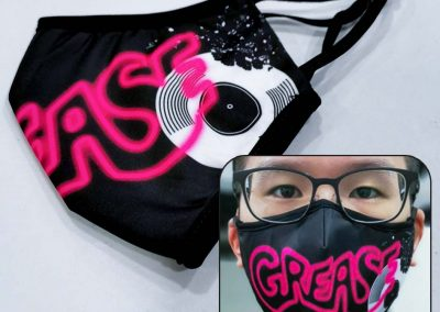 customised face mask printing