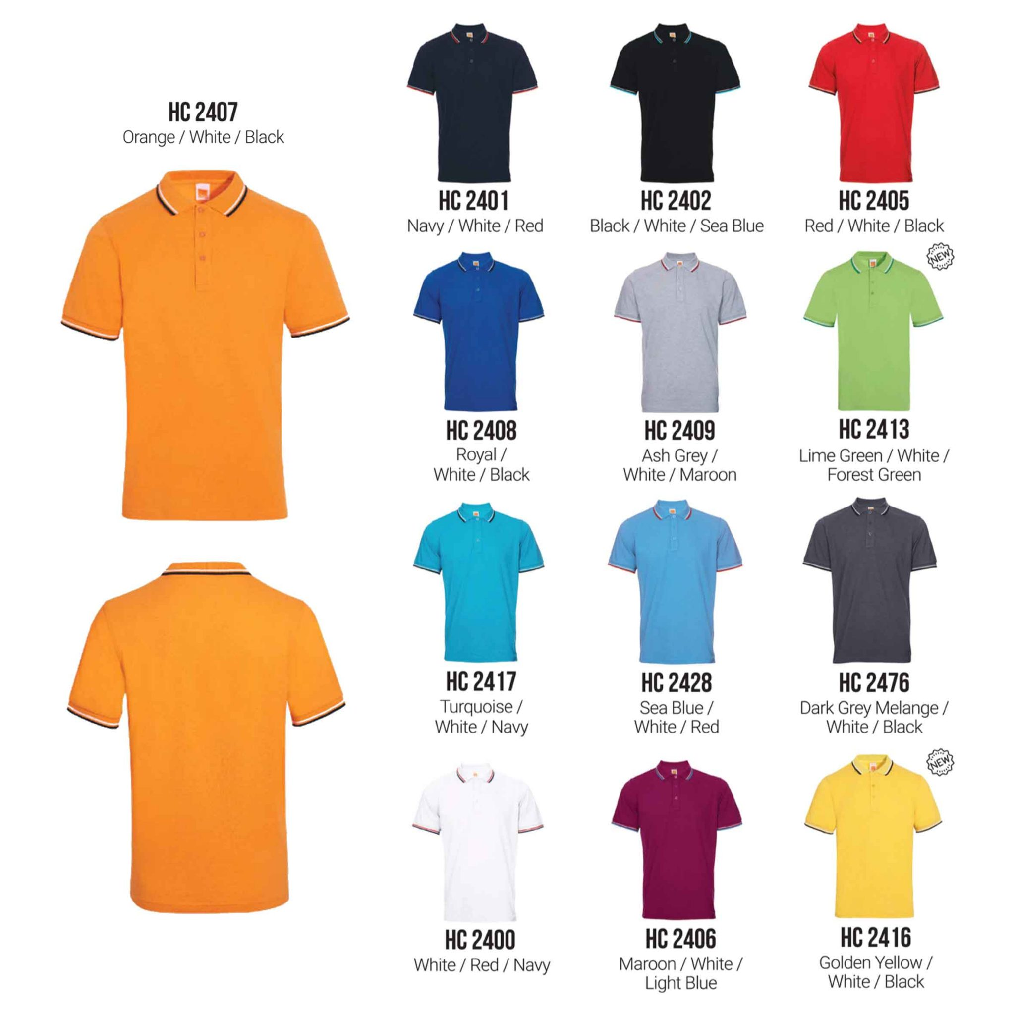 HC24 Polo T shirt